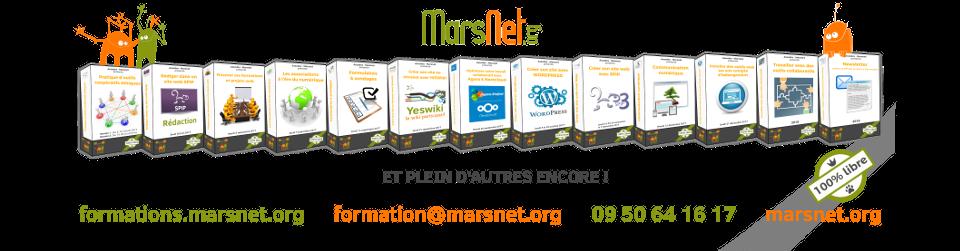 Catalogue des formation Assodev - Marsnet